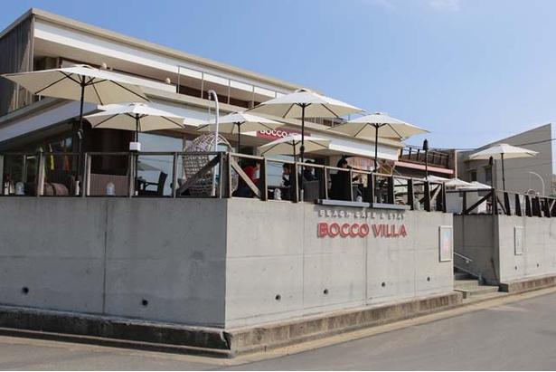 BEACH CAFÉ BOCCO VILLA / 隣には、2号店となる「BEACH CAFÉ BOCCO VILLA」がオープン