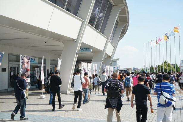 会場となったナゴヤドームには約3万人のファンが訪れた
