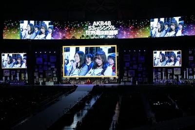 2位が発表される直前。松井珠理奈と須田亜香里のSKE48対決に、その場にいた全員が息を呑んだ