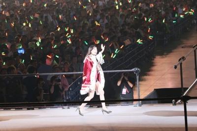 SKE48ファンが集まるブロックへ挨拶に行く松井珠理奈