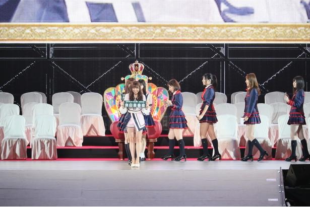 須田亜香里の入場シーン