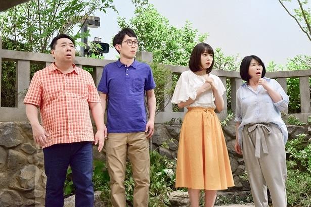 桜井日奈子らが目にした衝撃的な新キャラとは…?
