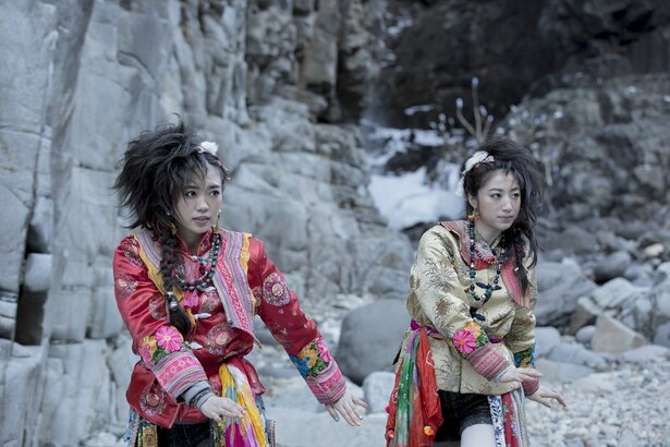 「Kuu」に出演する山口乃々華と坂東希