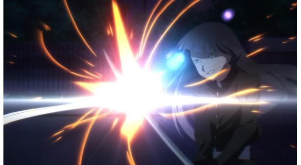 「魔法少女サイト」第11話の先行カットが到着。反逆の少女たち、管理人を捕獲できるか!?