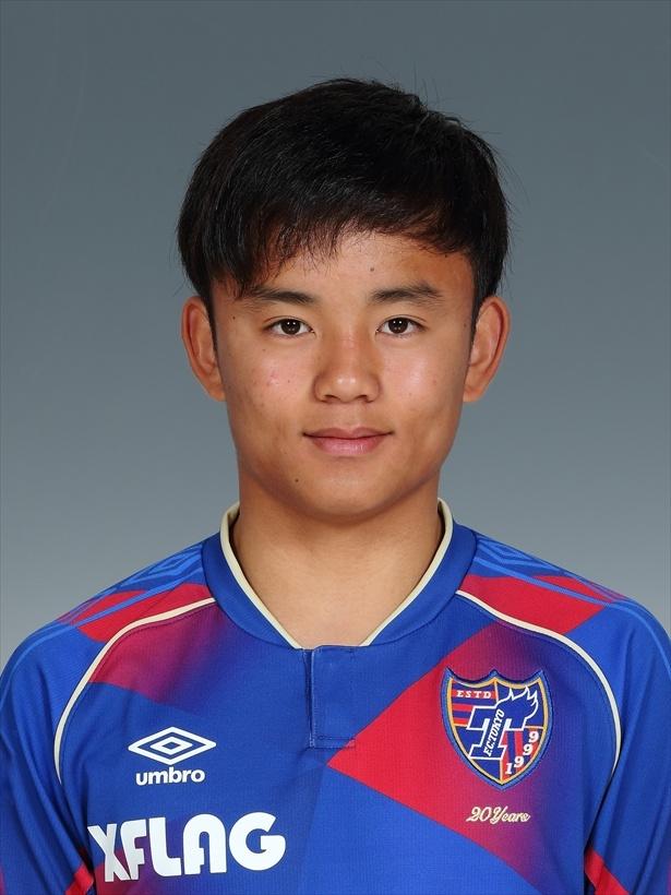 FC東京のMF、背番号は15番
