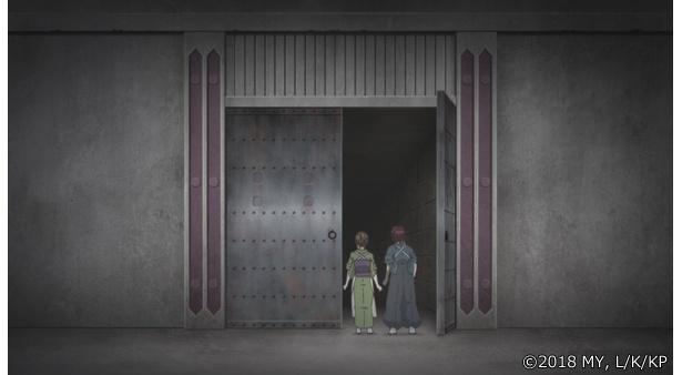 「かくりよの宿飯」第12話の先行カットが到着。お客様の子供が行方不明!?