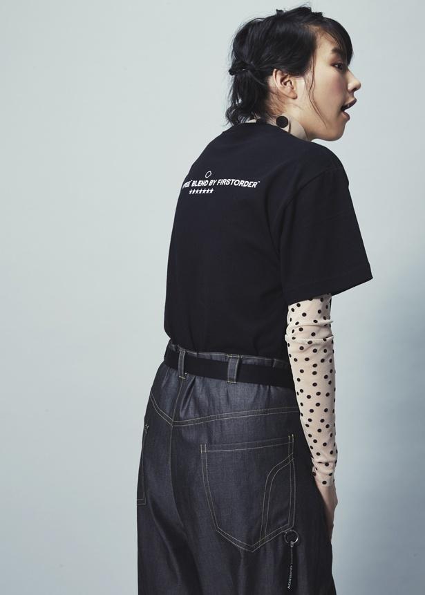 「NO COFFEE×FIRSTORDER」コラボアイテムの着用モデルに起用されたのん