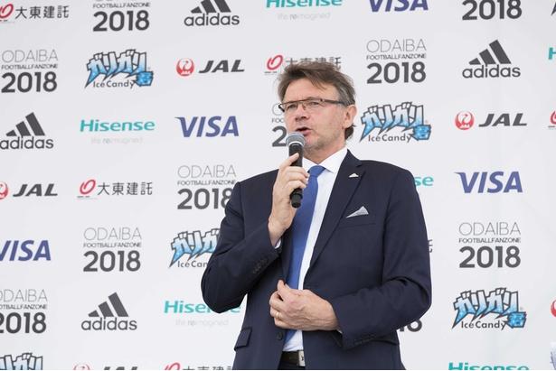 日本のロシアW杯での活躍に期待を込めるトルシエさん