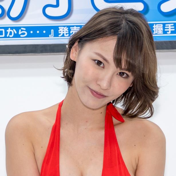 ファーストDVD「今、ココから…」(エスデジタル)発売イベントに登壇した奈月セナ