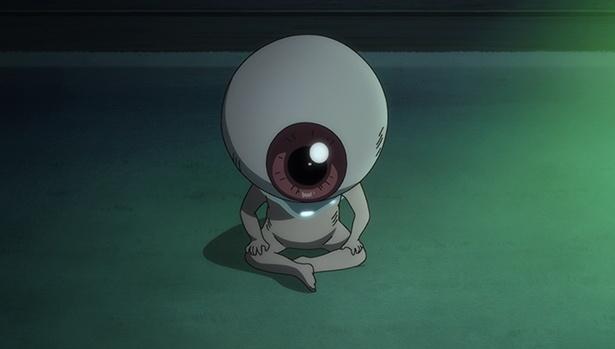 「ゲゲゲの鬼太郎」第12話の先行カットが到着。刑部狸の呪いが発動し、まなの体に異変が!