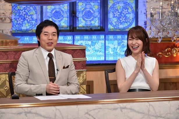 「弁護士といっしょです」のMCを務める今田耕司と指原莉乃