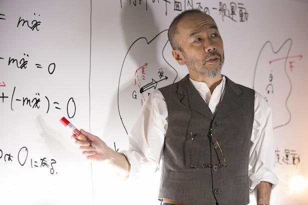 宇佐川教授役で出演する、塚本晋也にインタビュー