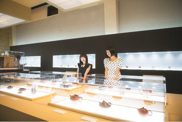 企画展「急須でお茶を―宜興・常滑・香味甘美」は、9月25日(火)まで開催