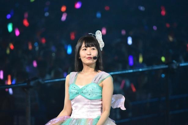 SKE48の惣田紗莉渚さん (AKB48グループコンサートより)