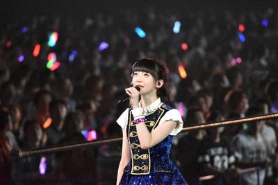 NGT48の荻野由佳さん (AKB48グループコンサートより)