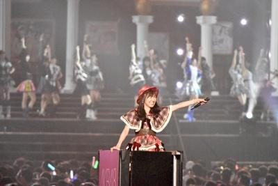 SKE48の須田亜香里さん (AKB48グループコンサートより)
