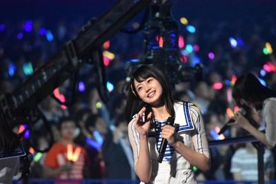 STU48の瀧野由美子さん (AKB48グループコンサートより)