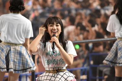HKT48の矢吹奈子さん (AKB48グループコンサートより)