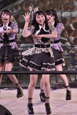 NMB48の山本彩加さん (AKB48グループコンサートより)