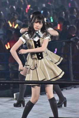 SKE48の一色嶺奈さん (AKB48グループコンサートより)