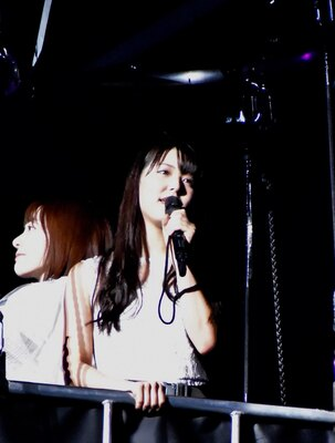 NMB48の白間美瑠さん (AKB48グループコンサートより)