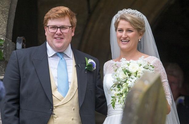 セリア・マッコーコデールの結婚式で主役を奪ったのは…?