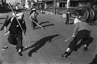 江東のこども、近藤勇と鞍馬天狗 1955年