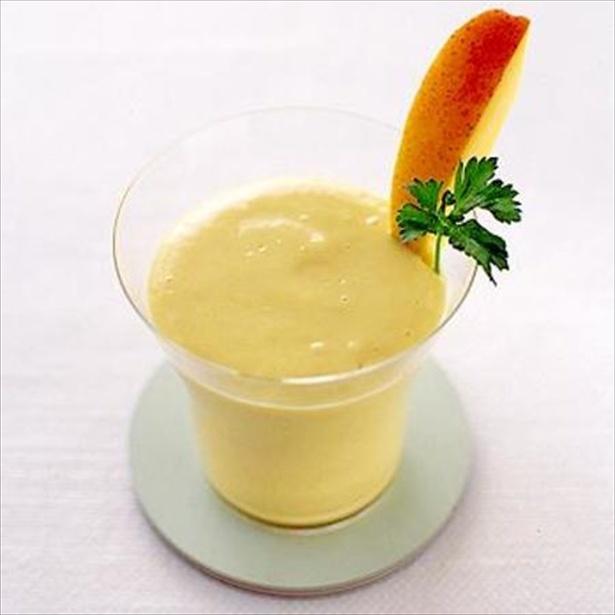 【関連レシピ】豆腐&マンゴーのジュース
