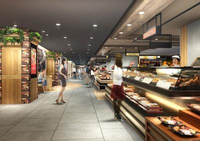 千葉県初出店を含む39のショップがずらり!地下1階の食品街「ペリチカ」