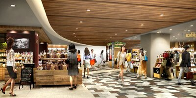 本館1階およびストリート1には、ファッションや生活雑貨など、日常に彩りを添えるショップが集結する