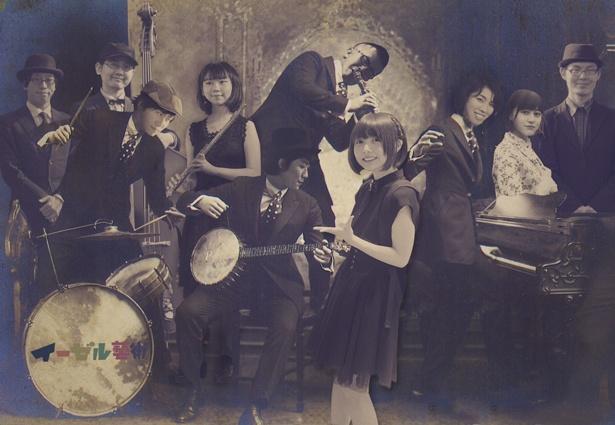 大阪・通天閣を中心に活躍するジャズバンド「イーゼル藝術工房」