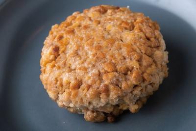 【写真を見る】大豆をミンチにしたパティ/H.M.T. CAFE DINING