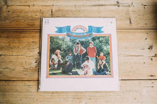 【写真を見る】The Beach Boysのレコード(3000円)