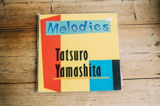 山下達郎のレコード(1800円)