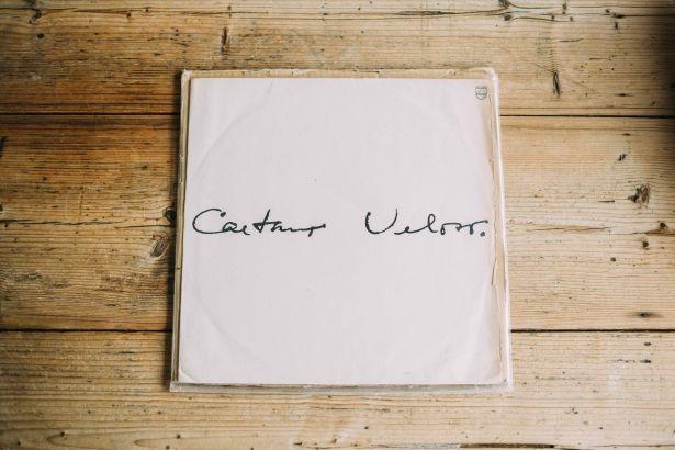 カエターノ・ヴェローゾのレコード(非売品)