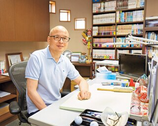 「甲子園で感じた空気を表現したい」と、取材経験をもとに数々の高校野球漫画を執筆する三田紀房先生