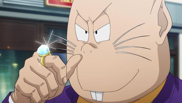 「ゲゲゲの鬼太郎」第13話の先行カットが到着。ねずみ男が豪遊三昧!?