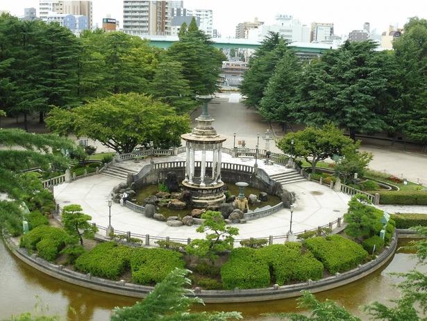 JR名古屋駅から2駅、24.07ヘクタールと大きな公園だ