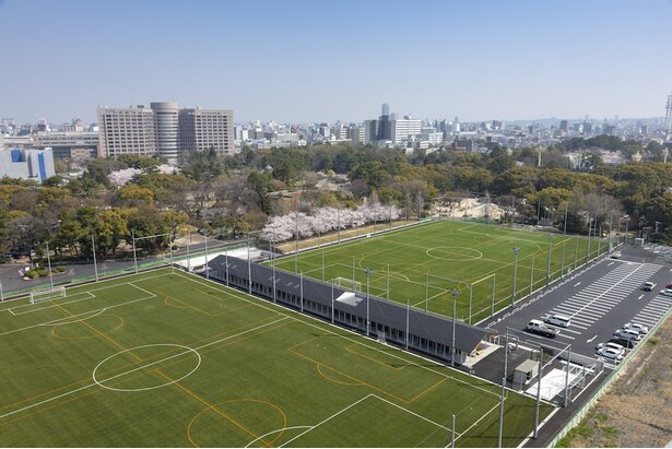 テラスポ鶴舞。名古屋市にとって新たなスポーツ交流拠点として2018年春にオープン