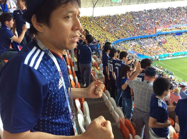 勝村政信、大杉漣さんと共に観た日本代表初戦を「FOOT×BRAIN」で生報告!