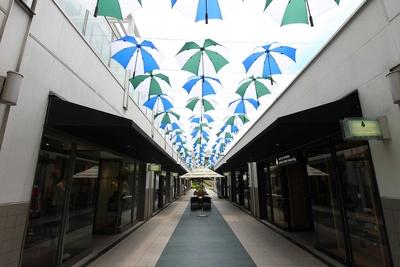 色とりどりの傘の花はインスタ映え間違いなし!(写真は2018年時)