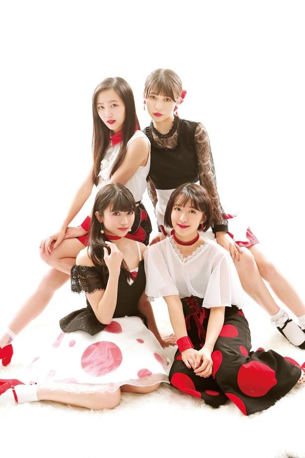 メンバー全員が二十歳を迎えて、大人っぽい雰囲気になった東京女子流。大人カワイイ衣装がステキ!