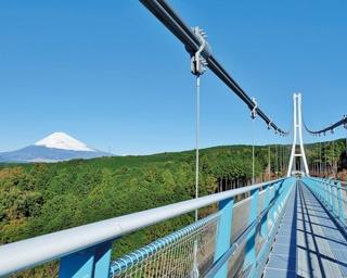絶景つり橋とアスレチックを楽しみたい!富士山を望む夏のドライブ〈静岡〉