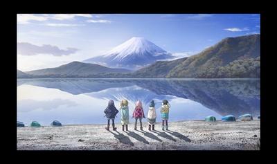 大ヒットテレビアニメ「ゆるキャン△」