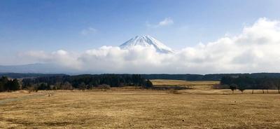 絶景の富士山