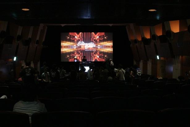 映画館を使った初のDJパーティ「シネマティック・ダンス」が渋谷HUMAXで開催された