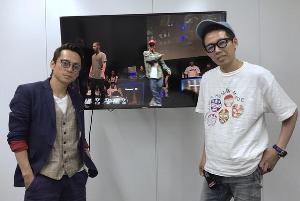 SETO(左)、U-KI(右)