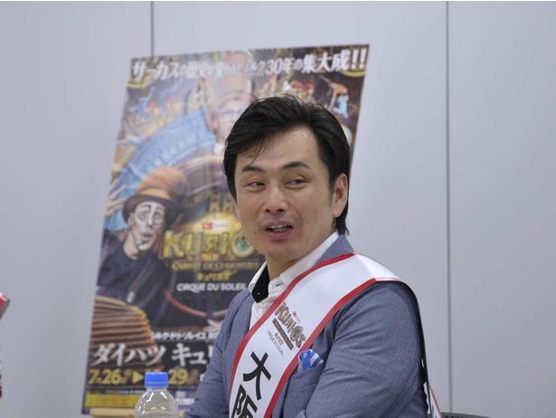 愛媛県担当。ミュージカル俳優で振付家の近藤誠二