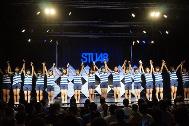 STU48にとって最多・最長となる「STU48瀬戸内7県ツアー~陸上公演 2018~」がついに千秋楽