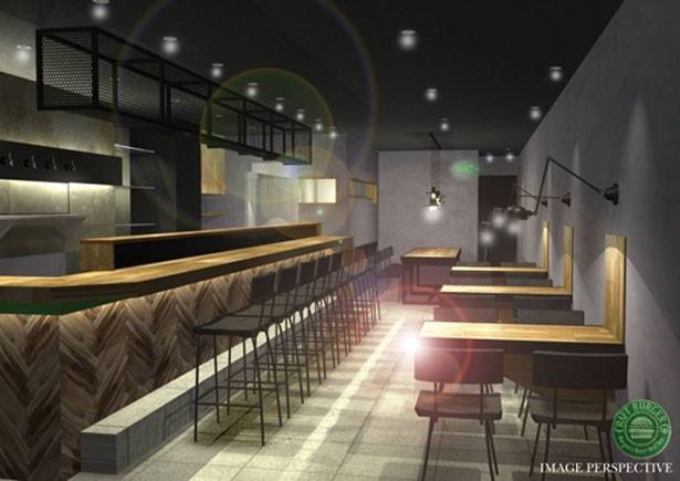 夜に多くの人の動きがある堂島というエリア/Craft Burger co. 堂島店